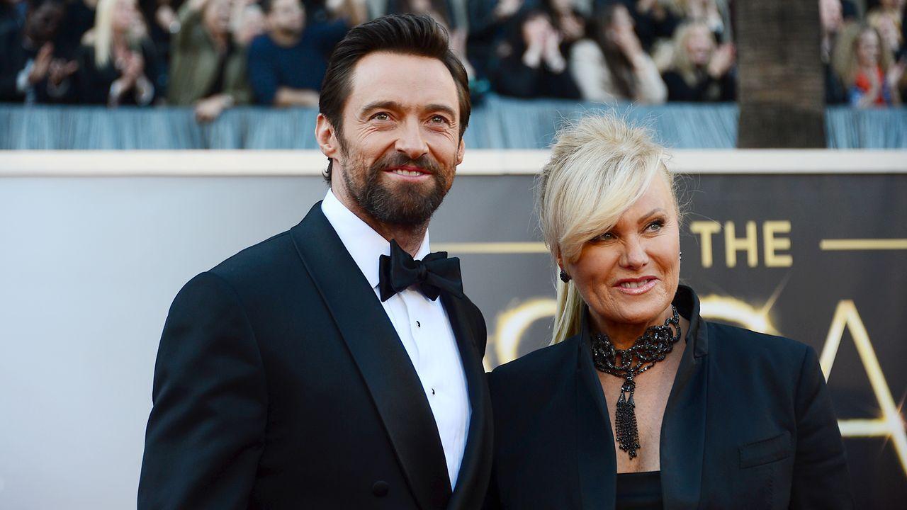 Oscars-Roter-Teppich-130224-Hugh-Jackman-Debora-Lee-Furness-AFP - Bildquelle: AFP