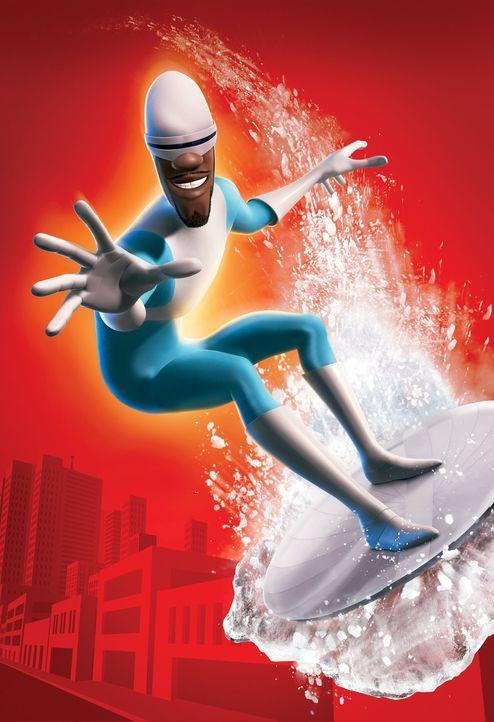 """Er ist wahrlich ein """"cooler"""" Superheld: Frozone - Bildquelle: Disney/Pixar. All rights reserved"""