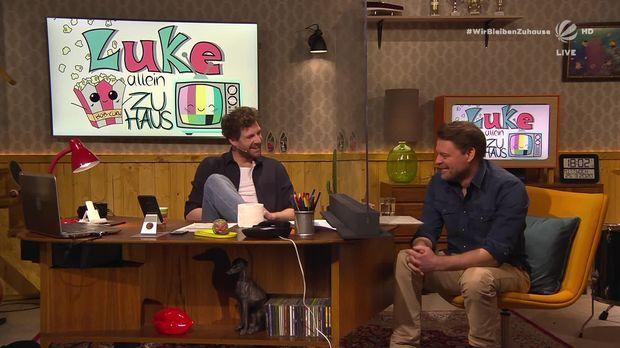 Luke, Allein Zuhaus - Luke, Allein Zuhaus - Quarantäne-besuch Von Max Giermann Und Eckart Von Hirschhausen