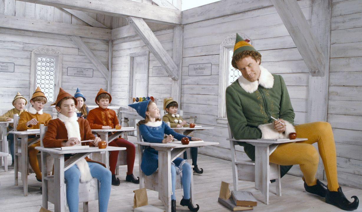 Es war einmal am Heiligabend, da krabbelte ein Waisenbaby in den Geschenkesack des Weihnachtsmannes, reiste darin bis zum Nordpol und wuchs dort als... - Bildquelle: Warner Bros. Television