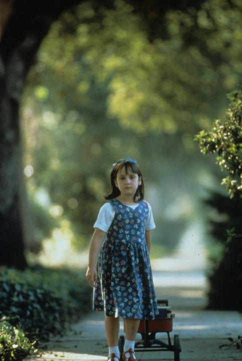 Ein wahres Wunderkind: Matilda (Mara Wilson) ... - Bildquelle: Columbia TriStar
