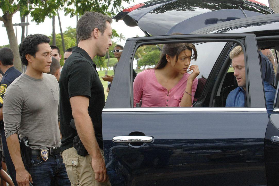 In Waikiki wird am helllichten Tag ein Geldtransporter überfallen und entführt - die Täter erschießen zwei Wachen. Kurze Zeit später findet das... - Bildquelle: TM &   2010 CBS Studios Inc. All Rights Reserved.