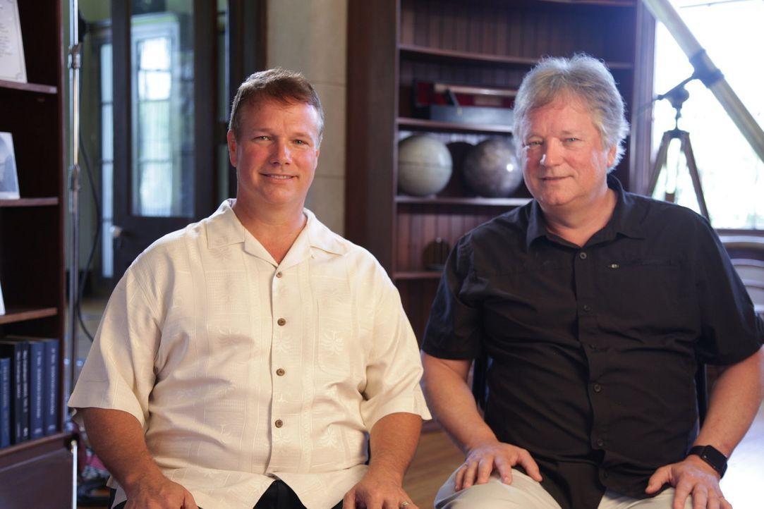 Mark Armstrong (l.); Rick Armstrong (r.) - Bildquelle: Spiegel TV