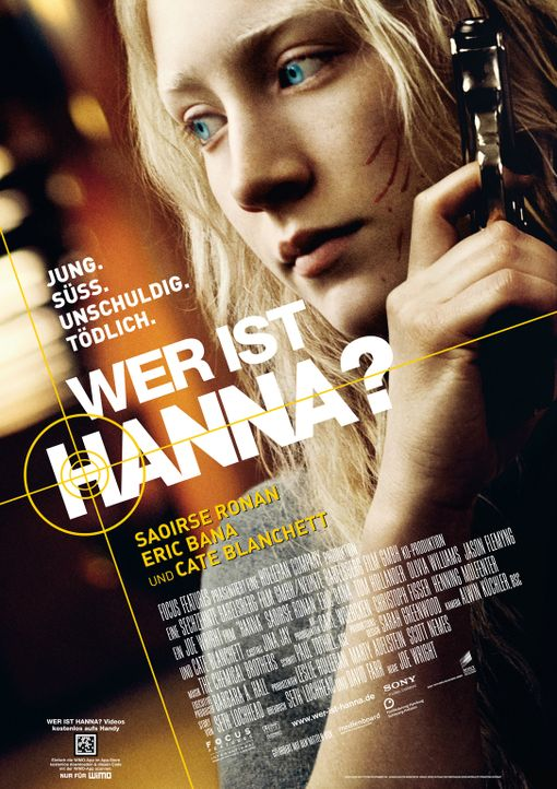 WER IST HANNA? - Plakatmotiv - Bildquelle: 2011 Focus Features LLC. All Rights Reserved.