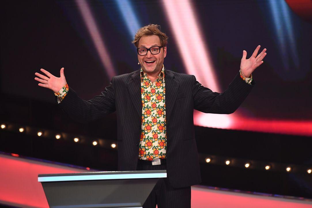 """In """"Paul Panzers Comedy Spieleabend"""" treten zwei Promiteams in mehreren Spielrunden gegeneinander an. Sie müssen ungewöhnliche und nicht alltägliche... - Bildquelle: Willi Weber SAT.1"""