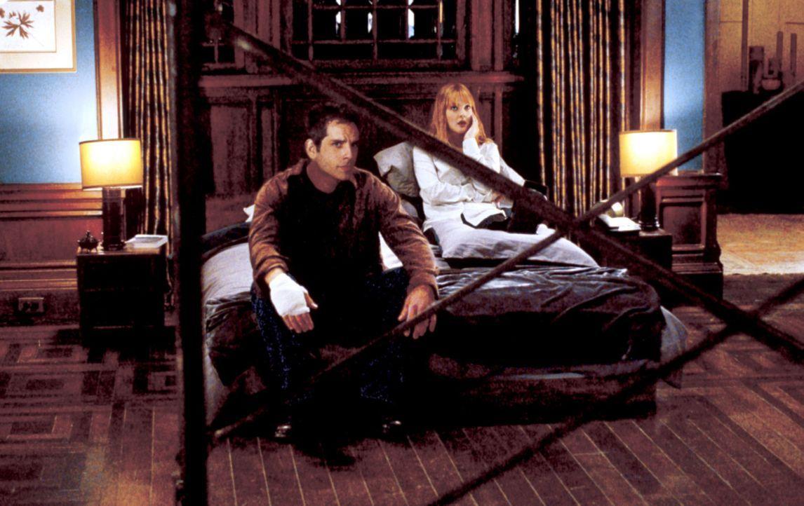 Schon bald müssen Alex (Ben Stiller, l.) und Nancy (Drew Barrymore, r.) erkennen, dass sie tunlichst ganz schnell alles vergessen sollten, was sie... - Bildquelle: Miramax Films.  All Rights Reserved.