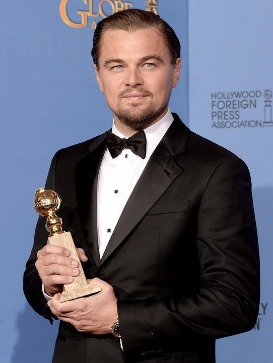 Golden-Globe-Leonardo-DiCaprio-14-01-12-getty-AFP - Bildquelle: getty-AFP