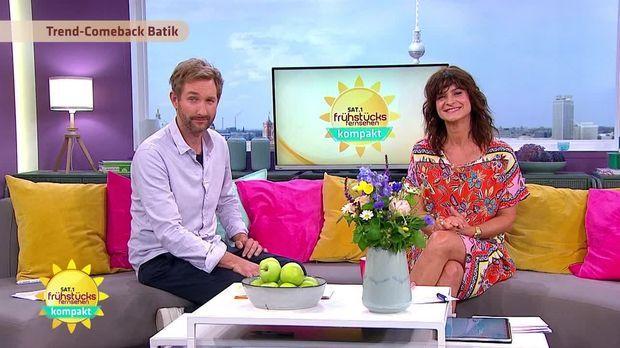 Frühstücksfernsehen - Frühstücksfernsehen - 09.06.2020: Neue Deutsche Welle-stars, Fahrradfahren Und Batiken
